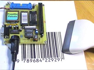 Phase III computer and barcode reader
