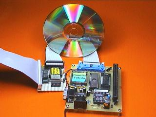 CD-ROM, scanner & hard disk, with a controller of SCSI-2 protocol for 7 simultaneous devices, for your computer of the phase III course.